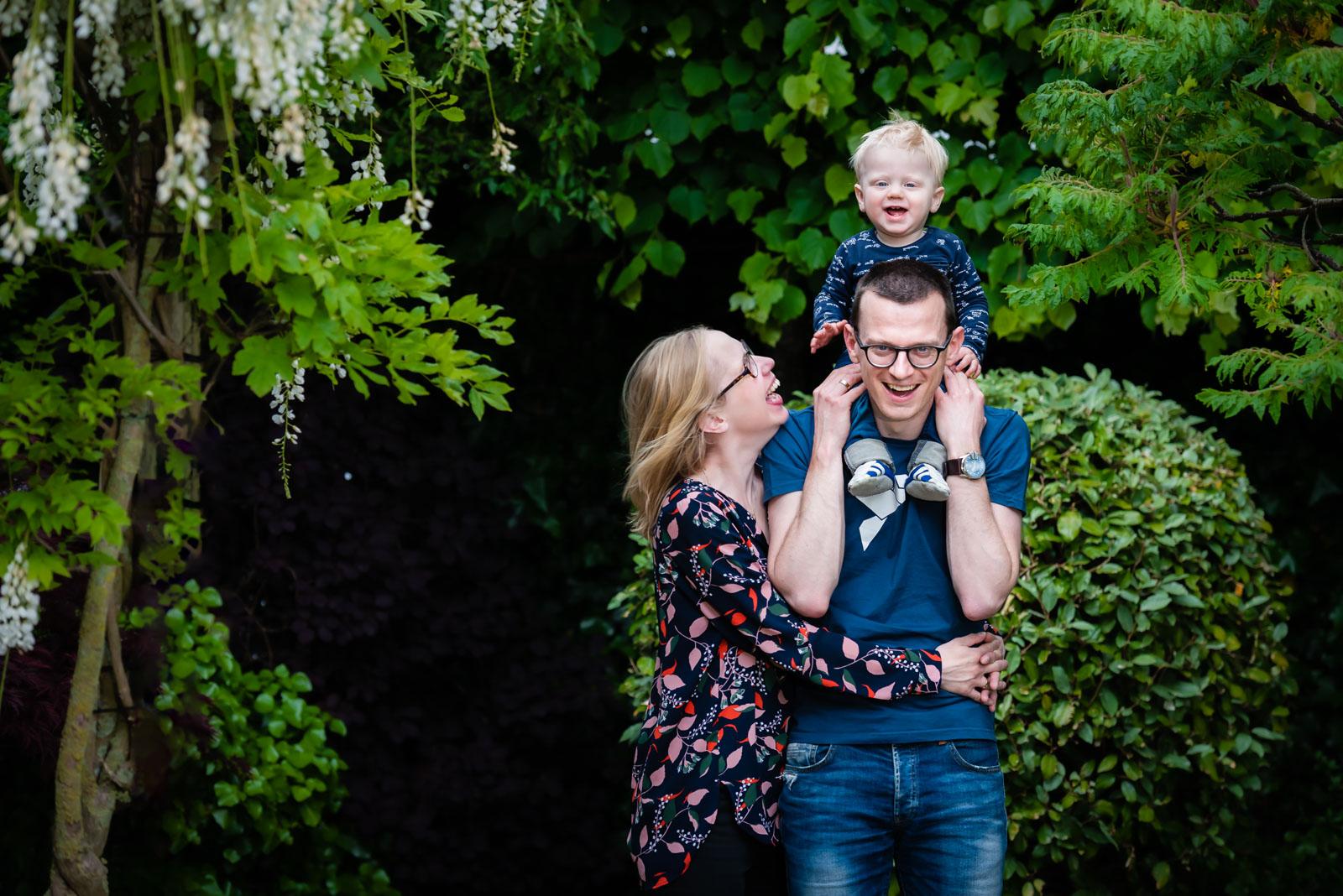 familie en gezinsfotografie fotoshoot op locatie Zalmiy Paeez fotografie Noord-Holland Haarlem Heemstede